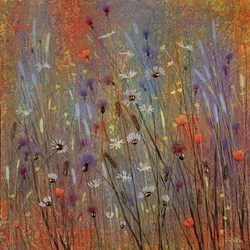 Vintage Summer by Jo Starkey -  sized 28x28 inches. Available from Whitewall Galleries